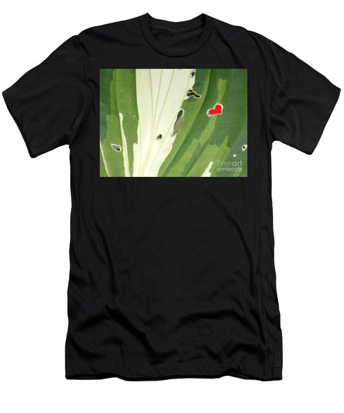 Heart In Nature Men's T-Shirt (Athletic Fit)