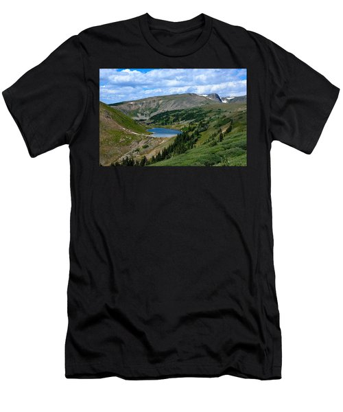 Heart Lake In The Indian Peaks Wilderness Men's T-Shirt (Athletic Fit)