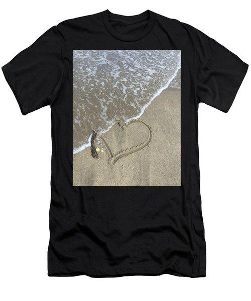 Heart Lost Men's T-Shirt (Athletic Fit)
