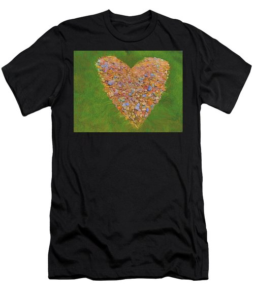 Heart Made Of Stones Men's T-Shirt (Athletic Fit)