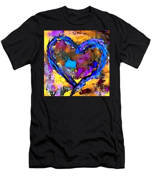 Heart No 7 Men's T-Shirt (Athletic Fit)