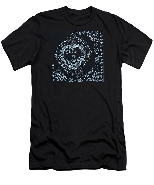 Heart Of Gold Men's T-Shirt (Athletic Fit)