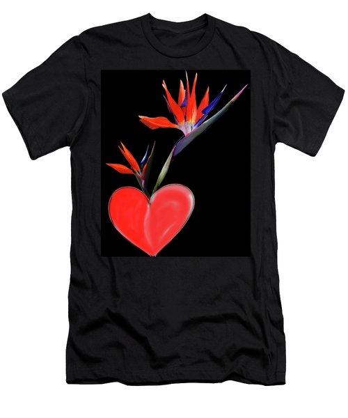 Heart  Of Paradise Men's T-Shirt (Athletic Fit)