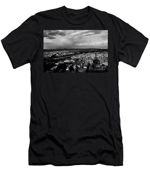 Paris 3 Men's T-Shirt (Athletic Fit)