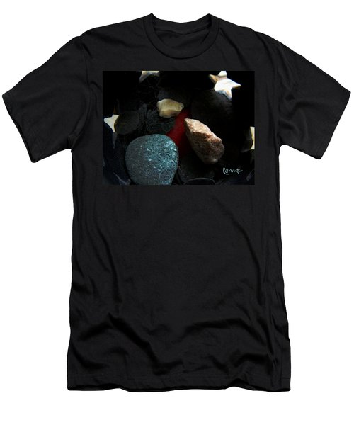 Men's T-Shirt (Slim Fit) featuring the photograph Heart Of Stone by RC DeWinter