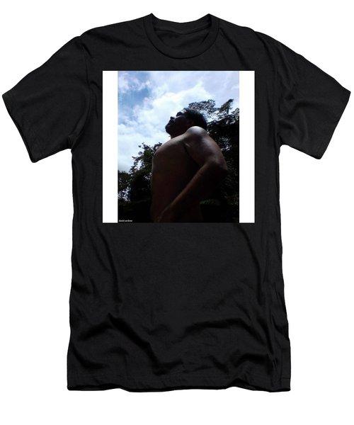 Heart, Soul And Men's T-Shirt (Slim Fit) by David Cardona