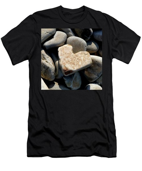 Heart Stone Men's T-Shirt (Athletic Fit)
