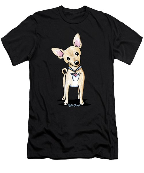 Heart Wings Chihuahua Men's T-Shirt (Athletic Fit)