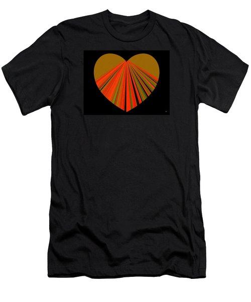 Heartline 5 Men's T-Shirt (Slim Fit) by Will Borden