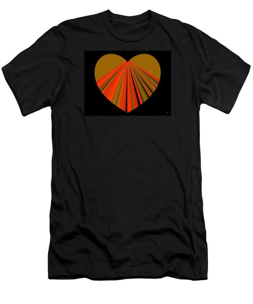 Heartline 5 Men's T-Shirt (Athletic Fit)