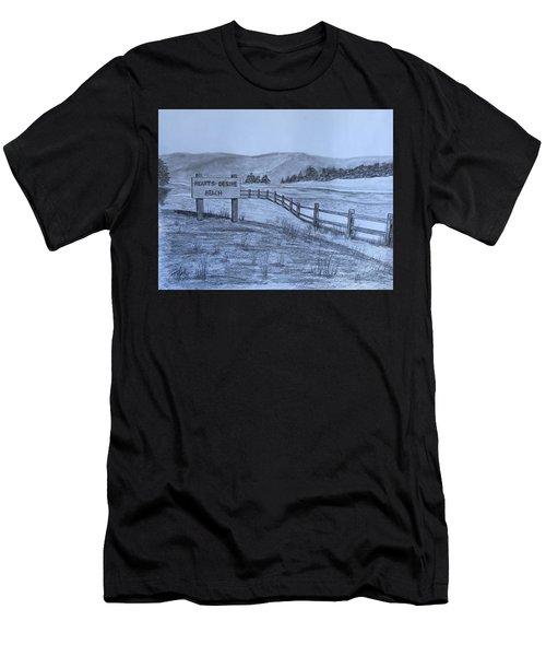 Hearts Desire Beach Men's T-Shirt (Athletic Fit)