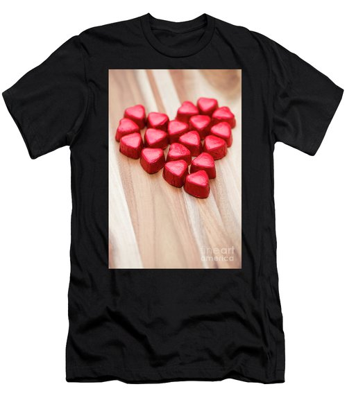 Hearty Heart Men's T-Shirt (Athletic Fit)