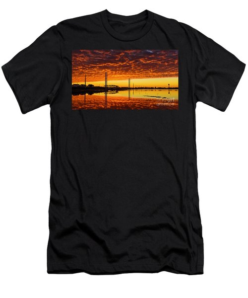 Swing Bridge Heat Men's T-Shirt (Athletic Fit)