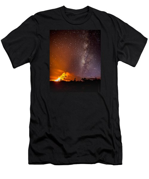 Heaven And Hell Men's T-Shirt (Slim Fit) by Allen Biedrzycki