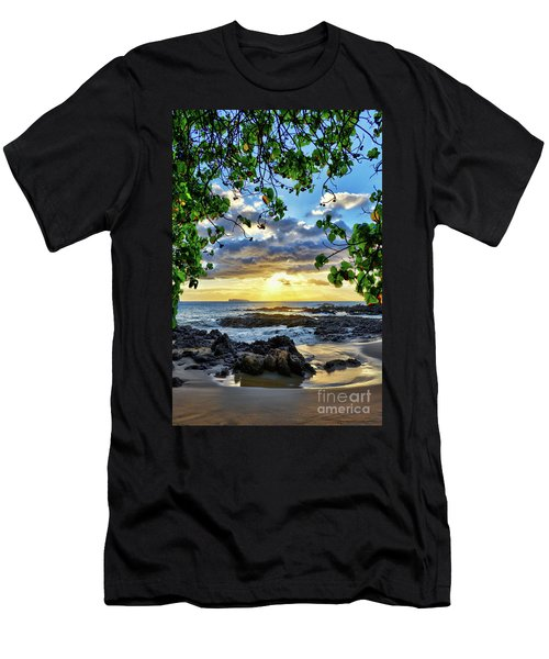 Heaven On Maui Men's T-Shirt (Athletic Fit)