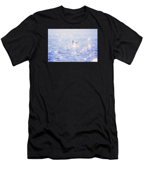 Heaven On The Lake- Lake Mary Ronan  Men's T-Shirt (Athletic Fit)