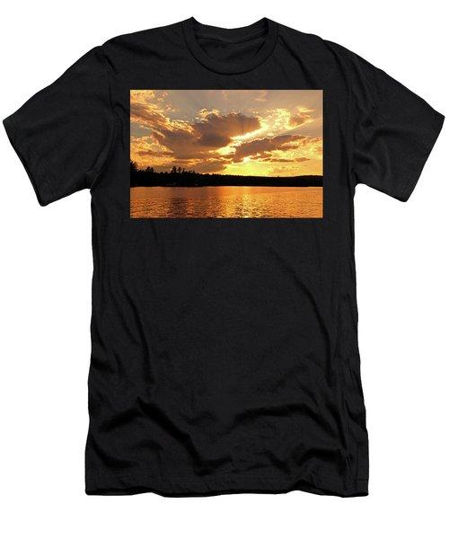 Heaven Shining Men's T-Shirt (Athletic Fit)