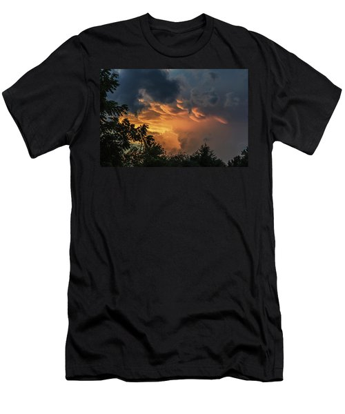Heavenly Clouds Men's T-Shirt (Athletic Fit)