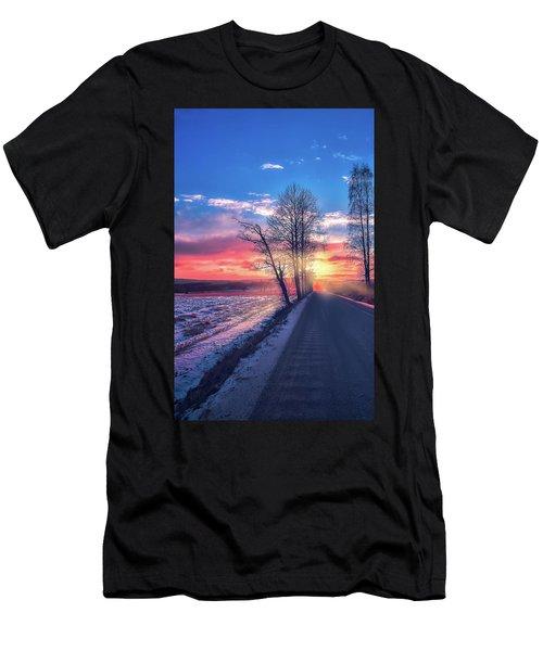 Heavenly Journey Men's T-Shirt (Athletic Fit)