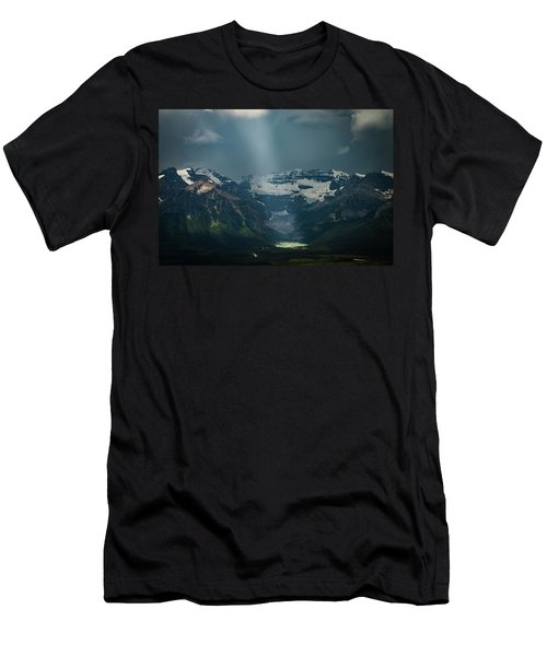 Men's T-Shirt (Athletic Fit) featuring the photograph Heavenly Lake Louise by William Lee