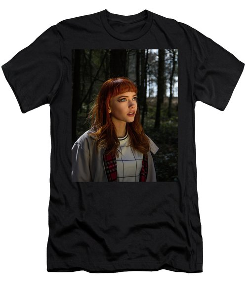 Men's T-Shirt (Athletic Fit) featuring the photograph Heavenly Light by Ian Thompson
