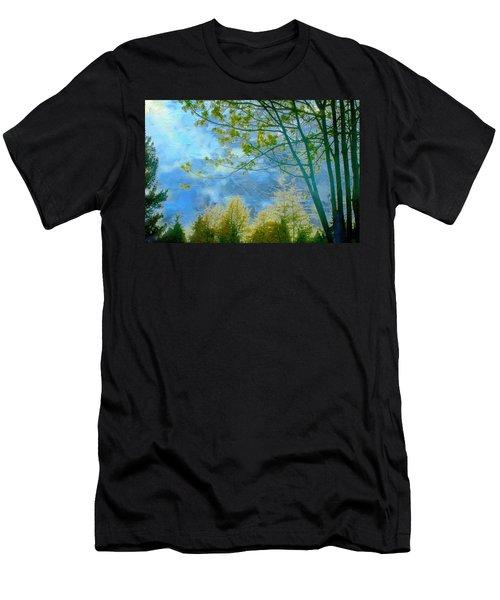 Heavenly Light II Men's T-Shirt (Athletic Fit)