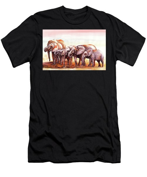 Heavy Drinkers Men's T-Shirt (Athletic Fit)