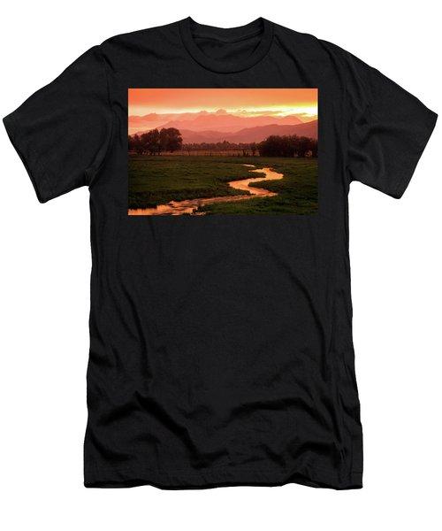 Heber Valley Golden Sunset Men's T-Shirt (Athletic Fit)