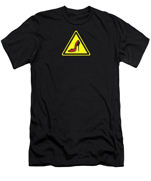 Heels Hazard Men's T-Shirt (Athletic Fit)