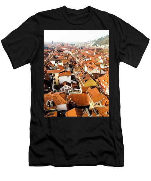 Heidelberg Cityscape Men's T-Shirt (Athletic Fit)