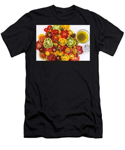 Heirloom Tomato Slices Men's T-Shirt (Athletic Fit)