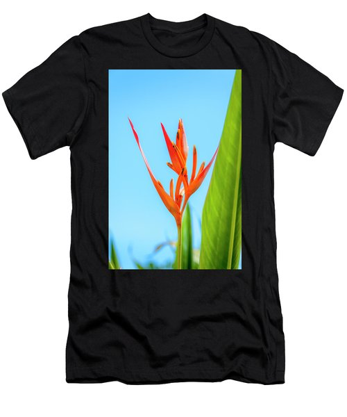 Heliconia Flower Men's T-Shirt (Athletic Fit)