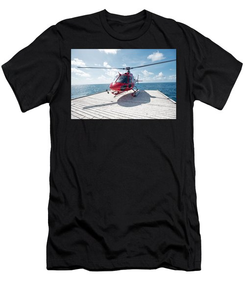 Helicopter Men's T-Shirt (Athletic Fit)