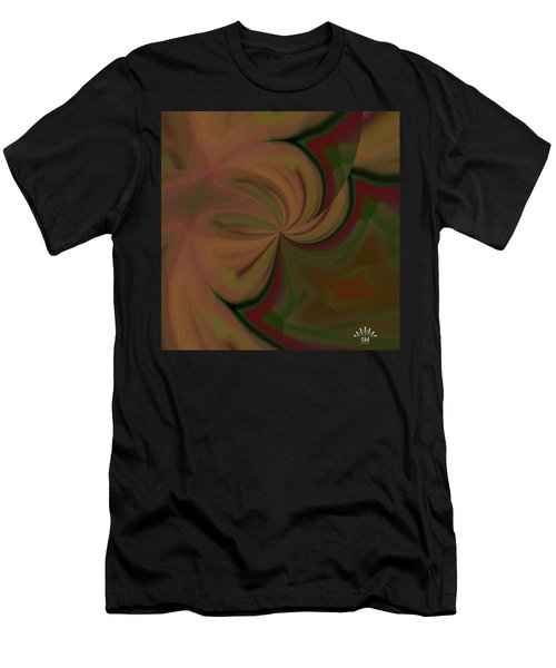 Helix Art  Design  Men's T-Shirt (Athletic Fit)