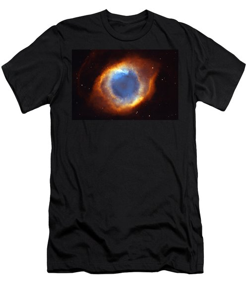 Helix Nebula Men's T-Shirt (Athletic Fit)