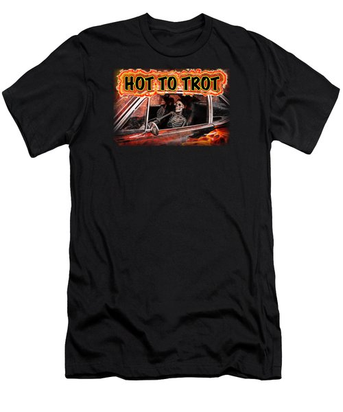 Men's T-Shirt (Slim Fit) featuring the digital art Hell Drive by Richard Farrington
