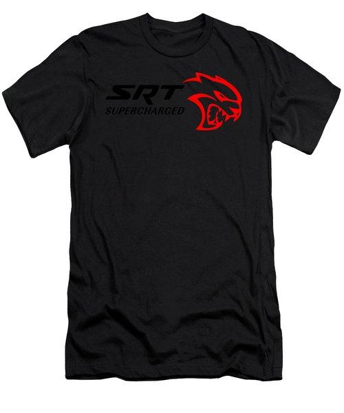 Hellcat Srt Supercharged Men's T-Shirt (Athletic Fit)