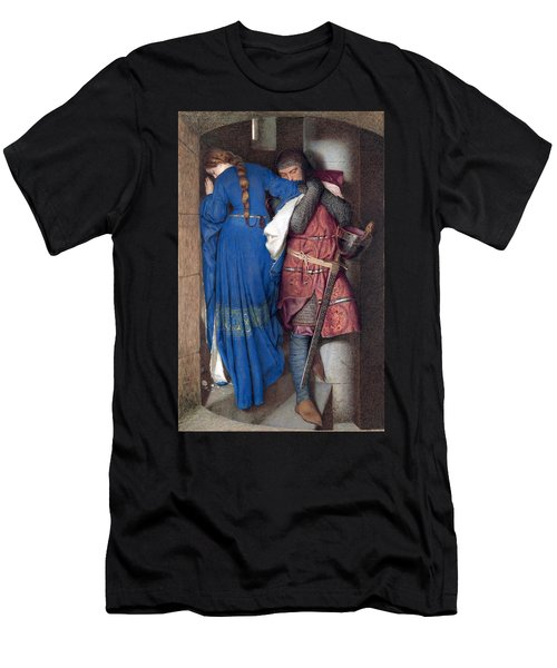Hellelil And Hildebrand Or The Meeting On The Turret Stairs Men's T-Shirt (Athletic Fit)