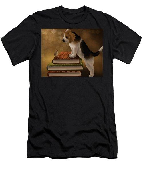 Hello Friend Men's T-Shirt (Athletic Fit)