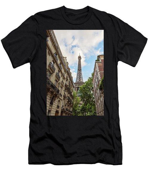 Hello, Paris Men's T-Shirt (Athletic Fit)