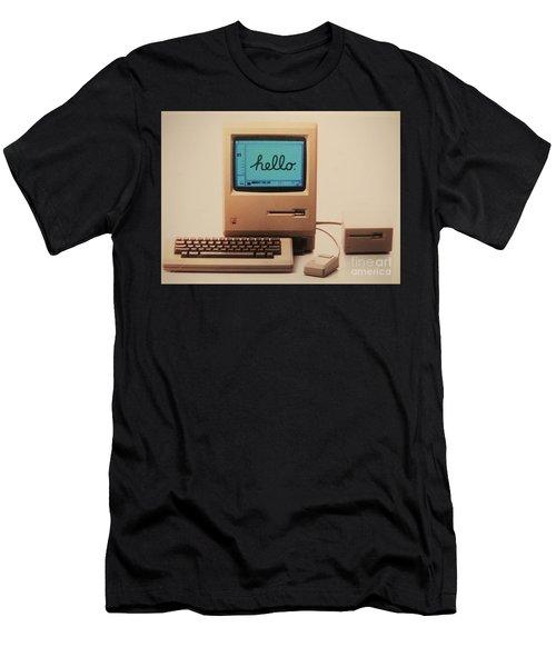 Hello Remember Me Men's T-Shirt (Athletic Fit)