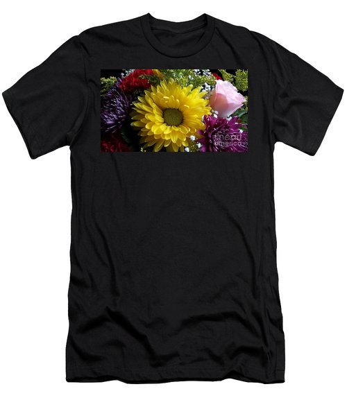 Hello Sunshine Men's T-Shirt (Slim Fit) by Becky Lupe