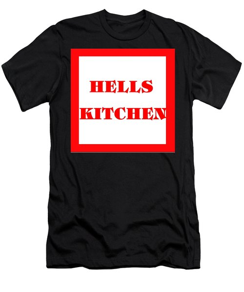Hells Kitchen Red Men's T-Shirt (Athletic Fit)