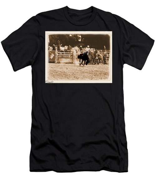 Helluva Rodeo-the Ride 2 Men's T-Shirt (Athletic Fit)