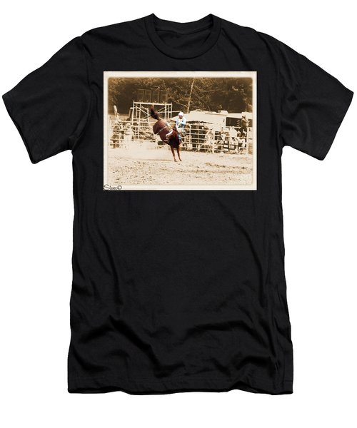 Helluva Rodeo-the Ride 3 Men's T-Shirt (Athletic Fit)