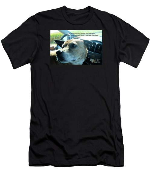 Men's T-Shirt (Athletic Fit) featuring the photograph Help Others by Beauty For God