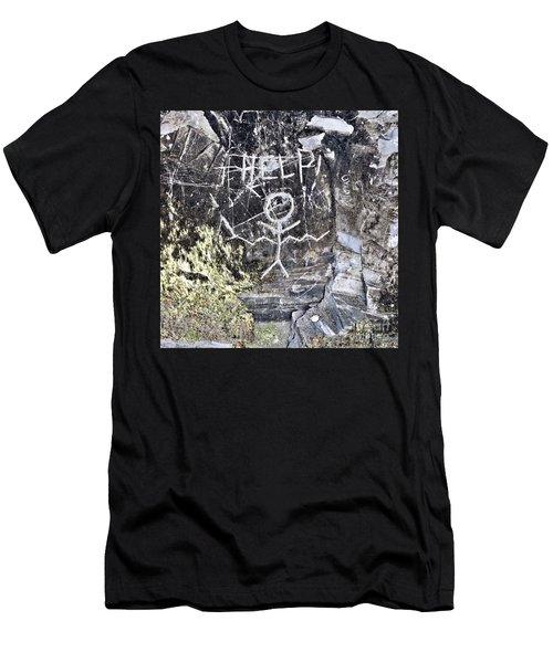 Help Men's T-Shirt (Athletic Fit)