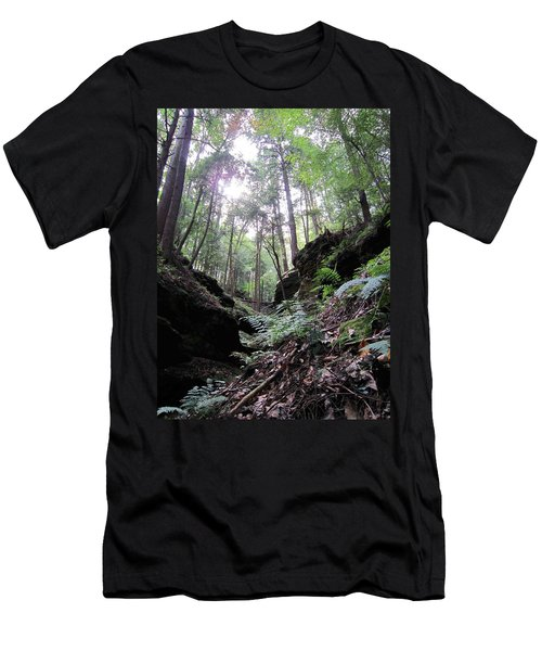 Hemlock Gorge Men's T-Shirt (Athletic Fit)