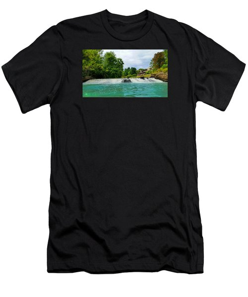Henry Ford Estate - Fair Lane Men's T-Shirt (Slim Fit) by Michael Rucker