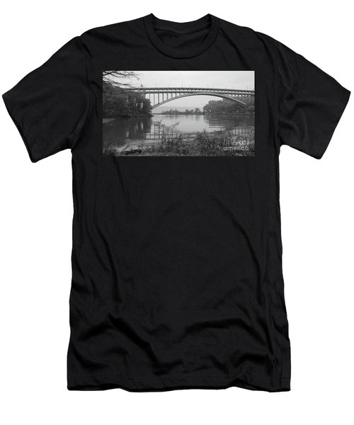 Henry Hudson Bridge  Men's T-Shirt (Athletic Fit)
